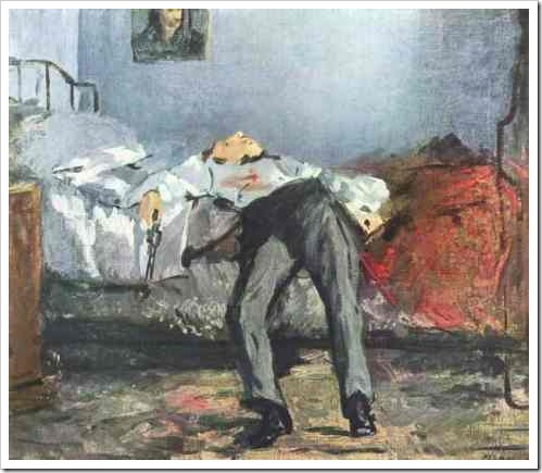 suicide_by_edouard_manet_1877