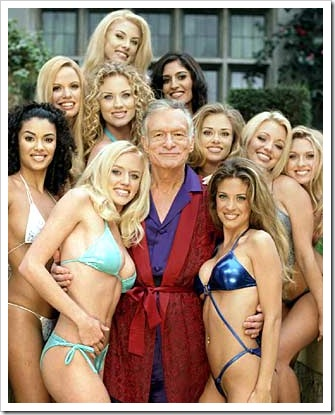 Playboy founder Hugh Hefner 4
