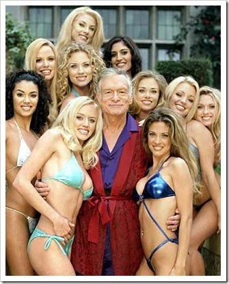 Playboy founder Hugh Hefner 4