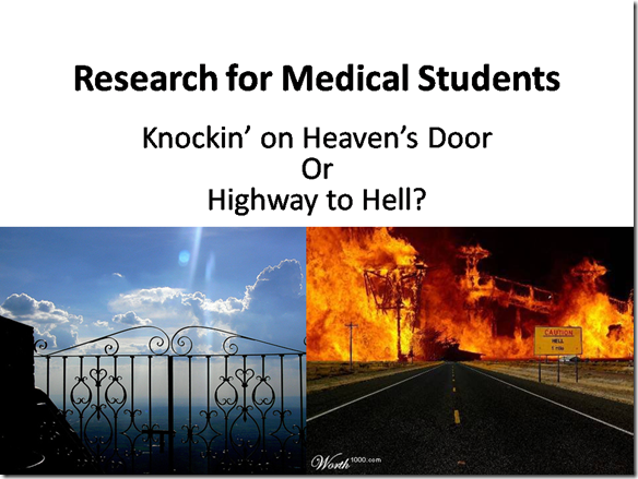 Research for Medical Students