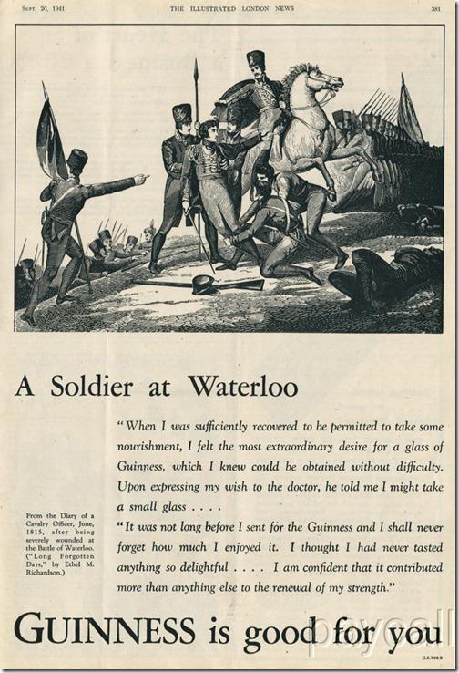1941 guinness ad