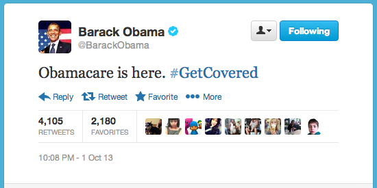 Obama: #GetCovered