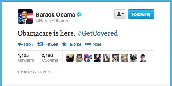Obama: #GetCovered