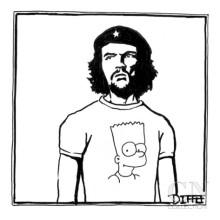 matthew-diffee-che-guevara-wearing-a-bart-simpson-t-shirt-new-yorker-cartoon