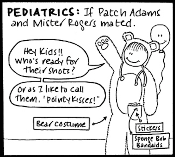 Pediatrics: Michelle Au (The Underwear Drawer)