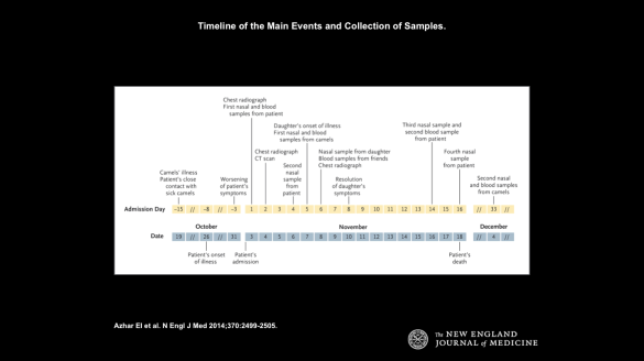 Timeline of the Main Events and Collection of Samples.