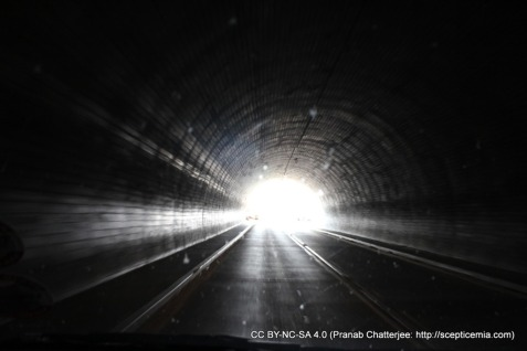 Light at the end of the tunnel