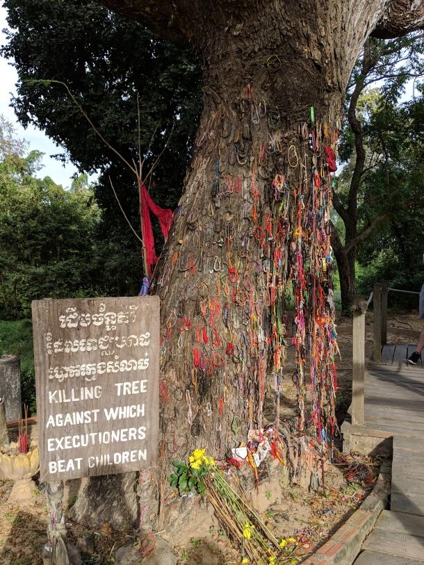 choeung ek killing tree board